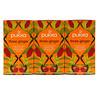 Pukka Herbs, Three Ginger Herbal Tea, Caffeine-Free, 3 Pack, 20 Herbal Tea Sachets Each