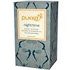Pukka Herbs, Night Time, Organic Oat Flower, Lavender & Limeflower Tea, Caffeine-Free, 20 Tea Sachets, 0.71 oz (20 g) (Discontinued Item)