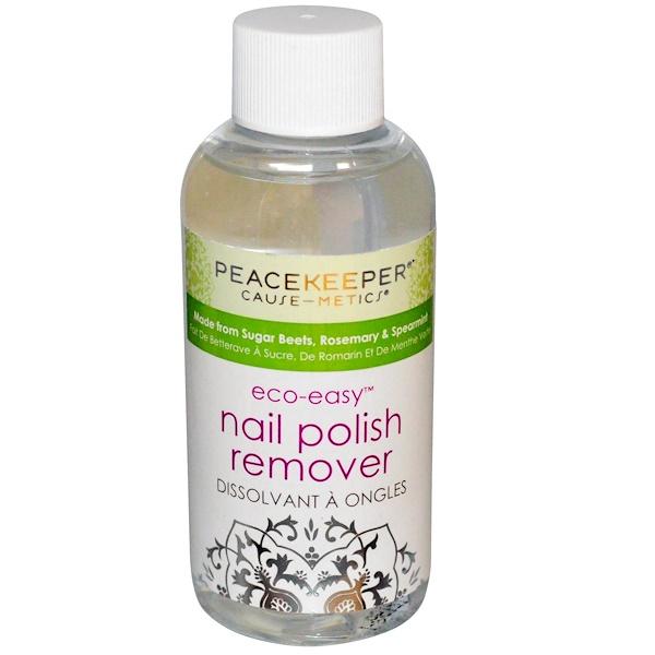 Peacekeeper Cause-Metics, Eco-Easy, Nail Polish Remover, 4 fl oz (118.29 ml) (Discontinued Item)