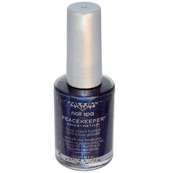 Peacekeeper Cause-Metics, Nail Spa Polish, Paint Me Soulful, 0.44 fl oz (12.5 ml) (Discontinued Item)