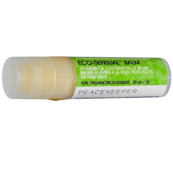 Peacekeeper Cause-Metics, Eco-Sensual Balm, .25 oz (7 g) (Discontinued Item)