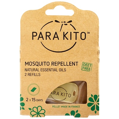 Para'kito 驅蚊手帶,含兩個補充裝