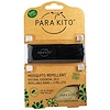 Para'kito, 蚊よけバンド+ 2ペレット、ブラック、3個セット
