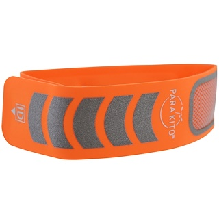 Para'kito, Sport Edition, Mosquito Repellent Band + 2 Pellets, Orange, 3 Piece Set