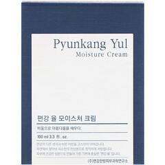 Pyunkang Yul, モイスチャークリーム、3.3液量オンス (100 ml)