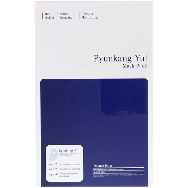 Pyunkang Yul, Mask Pack, 3 Step Skin Care, 1 Set (Discontinued Item)