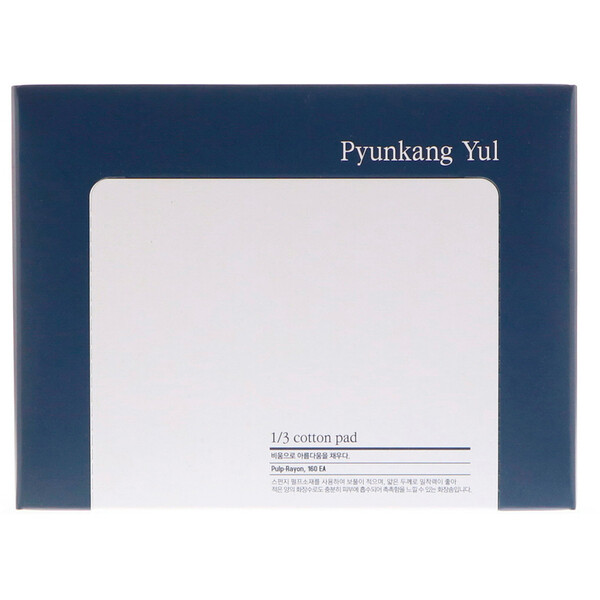 Pyunkang Yul, 1/3 Cotton Pad, 160 Pieces