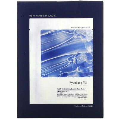 Купить Pyunkang Yul Highly Moisturizing Essence Beauty Mask Pack, 10 Sheets, 0.85 fl oz (25 ml) Each