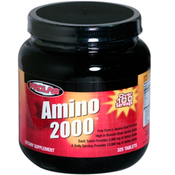 ProLab, Amino 2000, 325 Tablets (Discontinued Item)