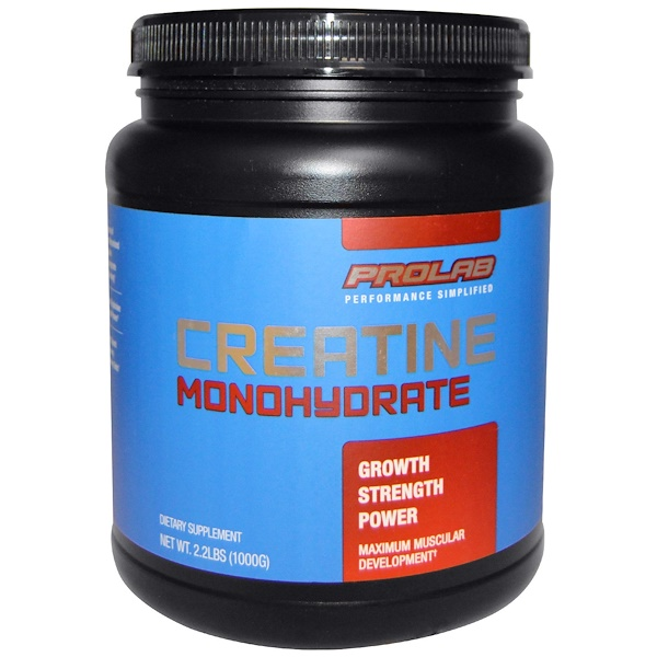 ProLab, Creatine Monohydrate, 2.2 lbs (1000 g) (Discontinued Item)