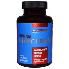 ProLab, Horny Goat Weed, 60 Capsules