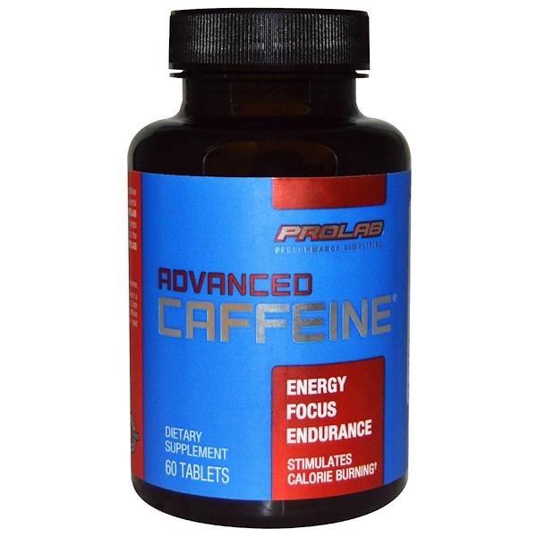ProLab, Advanced Caffeine, 60 Tablets
