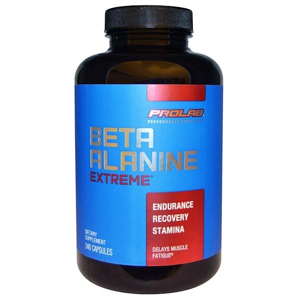 ProLab, Beta Alanine Extreme, 240 Capsules (Discontinued Item)