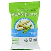 Peeled Snacks, Peas Please, Organic, Sea Salt, 3.3 oz (94 g)