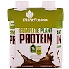PlantFusion, Complete Plant Protein, Chocolate, 4 Pack, 11 fl oz. (330 ml) Each