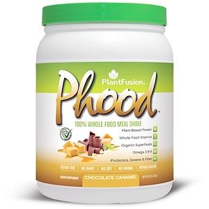 ПлэнтФьюжэн, Phood, 100% Whole Food Meal Shake, Chocolate Caramel, 15.9 oz (450 g) отзывы