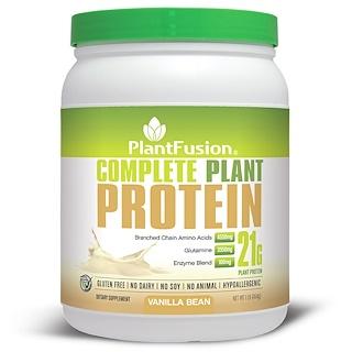 PlantFusion, Complete Plant Protein, Vanilla Bean, 1 lb (454 g)