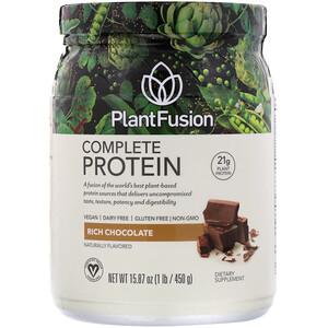 ПлэнтФьюжэн, Complete Protein, Rich Chocolate, 1 lb (450 g) отзывы покупателей