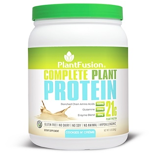 PlantFusion, Complete Plant Protein, Cookies N' Creme, 1 lb (454 g)