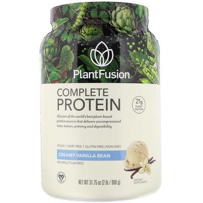 Complete Protein, сливочная ваниль, 900 г (2 фунта) complete protein натуральный вкус 840г