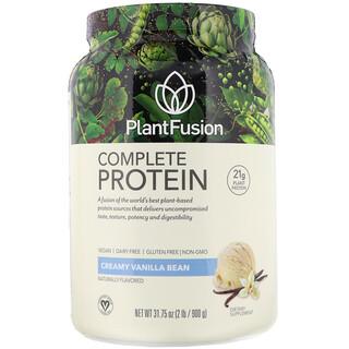 PlantFusion, Complete Protein, Creamy Vanilla Bean, 2 lb (900 g)