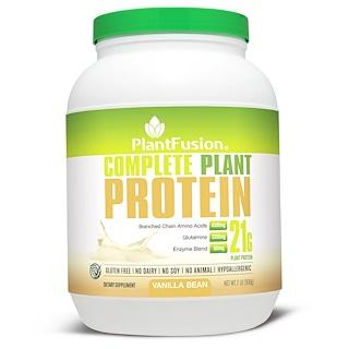 PlantFusion, Complete Plant Protein, Vanilla Bean, 2 lb (908 g)