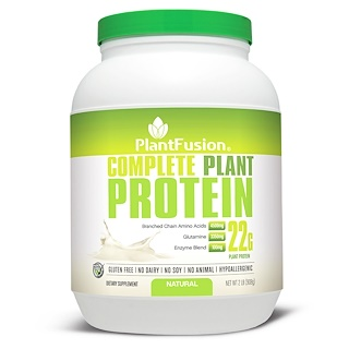 PlantFusion, Complete Plant Protein, Natural, 2 lbs (908 g)