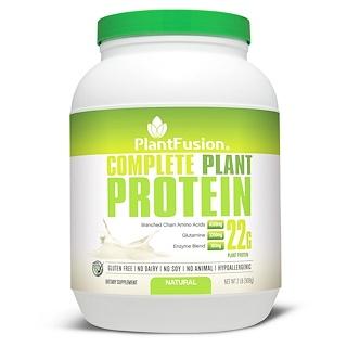PlantFusion, بروتين نباتي كامل، طبيعي، 2 رطل (908 غ)