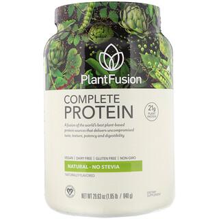 PlantFusion, Complete Protein، طبيعي، 1.85 رطل (840 جرامًا)