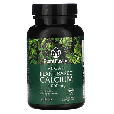 Купить PlantFusion Vegan Planet-Based Calcium, 1, 000 mg, 90 Tablets