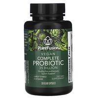 PlantFusion, Vegan Complete Probiotic, 35 Billion CFU, 30 Vegan Capsules