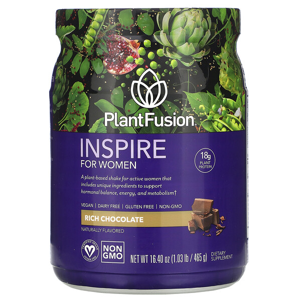 Inspire for Women, Rich Chocolate, 16.40 oz (465 g)