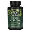PlantFusion, Vegan Black Elderberry, 1,150 mg, 60 Vegan Capsules