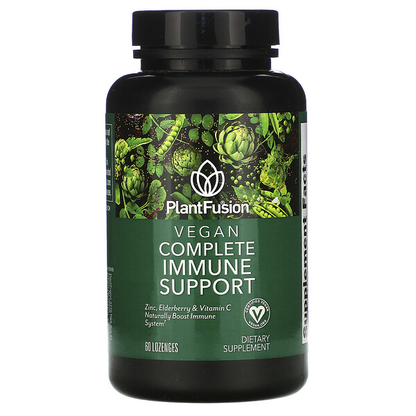 Vegan Complete Immune Support, 60 Lozenges