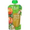 Plum Organics, Papinha de Bebê Orgânica, Estágio 2, Maçã e Brócolis, 4 oz (113 g)