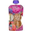 Plum Organics, Comida orgánica para bebés, Etapa2, Manzana, ciruela, bayas y cebada, 99g (3.5oz)
