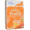 Plum Organics, Tots, Organic Teensy Fruits, Peach, 12+ Months, 5 Packs, .35 oz (10 g) Each