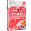 Plum Organics, Tots, Organic Teensy Fruits, Berry, 12+ Months, 5 Packs, .35 oz (10 g) Each