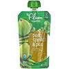 Plum Organics, Papinha Orgânica, 2ª Estágio de Desenvolvimento, Pera, Espinafre e Ervilha, 4 oz (113 g)