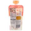 Plum Organics, オーガニックベビーフード、ステージ2、ピーチ、バナナ&アプリコット、4オンス (113 g)