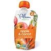 Plum Organics, Alimento orgânico para bebês, estágio 2, maçã e cenoura, 4 oz. (113 g)
