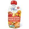 Plum Organics, Organic Baby Food, Stage 2, Sweet Potato Apple & Corn, 4 oz (113 g)