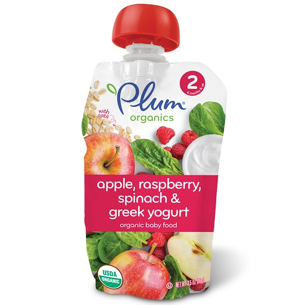 Plum Organics, Tots, Fiddlesticks, Berry, 2.12 oz, (60 g) (Discontinued Item)