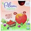Plum Organics, Organics, Applesauce Mashups with Strawberry & Beet, 4 Pouches, 3.17 oz (90 g) Each