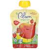 Plum Organics, Applesauce Mashups with Strawberry & Banana, 4 Pouches, 3.17 oz (90 g) Each