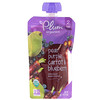 Plum Organics, Organic Baby Food, Stage 2, Pear, Purple Carrot & Blueberry, 4 oz (113 g)