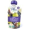Plum Organics, Papinha de Bebê Orgânica, Estágio 2, Pera, Cenoura Roxa e Mirtilo, 4 oz (113 g)