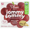 Plum Organics, Jammy Sammy, Peanut Butter & Grape, 5 Bars, 1.02 oz (29 g) Each
