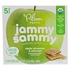 Plum Organics, Jammy Sammy, Apple Cinnamon & Oatmeal, 5 Bars, 1.02 oz (29 g) Each