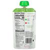 Plum Organics, オーガニックベビーフード、ステージ2、ニンジン、豆、ホウレンソウ、トマト、オーツ麦入り、99g(3.5オンス)